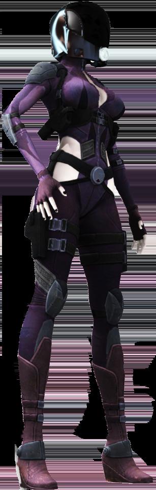 宇宙服の女性